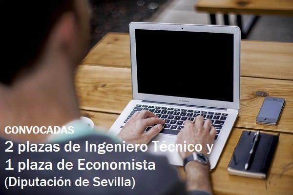 plazas Diputación Sevilla