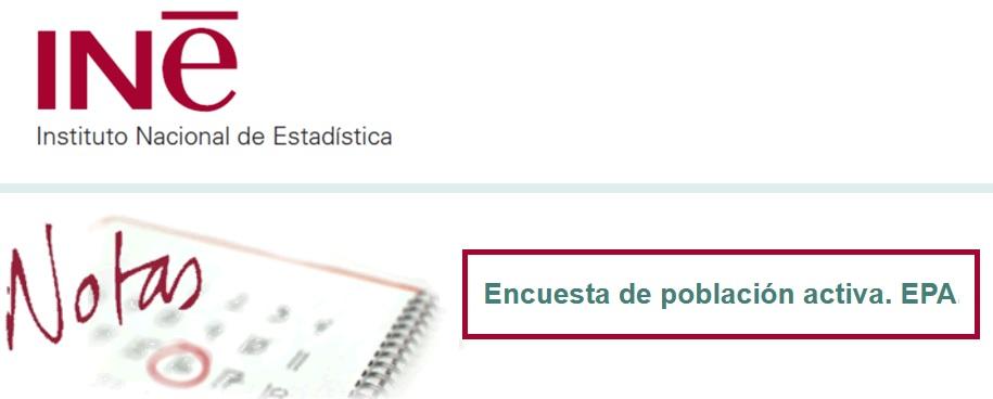 Andalucía encuesta población activa